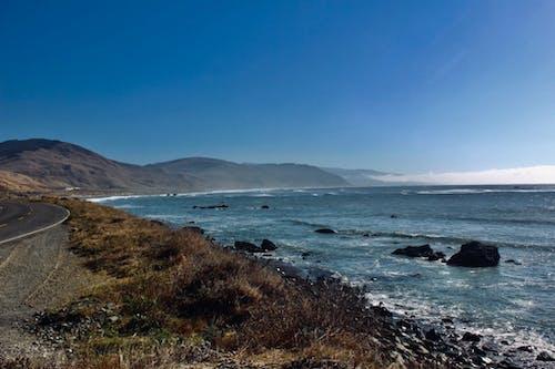 オーシャンロック, カリフォルニアの海岸, ドラマチック, ビスタの無料の写真素材