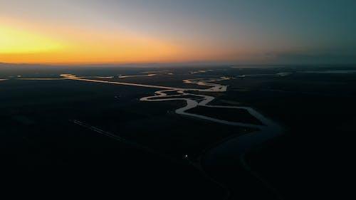 Ảnh lưu trữ miễn phí về con sông, đêm, đồng bằng