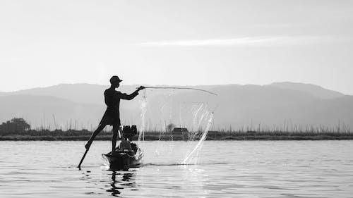 Δωρεάν στοκ φωτογραφιών με inle, myanmar, αλιεία
