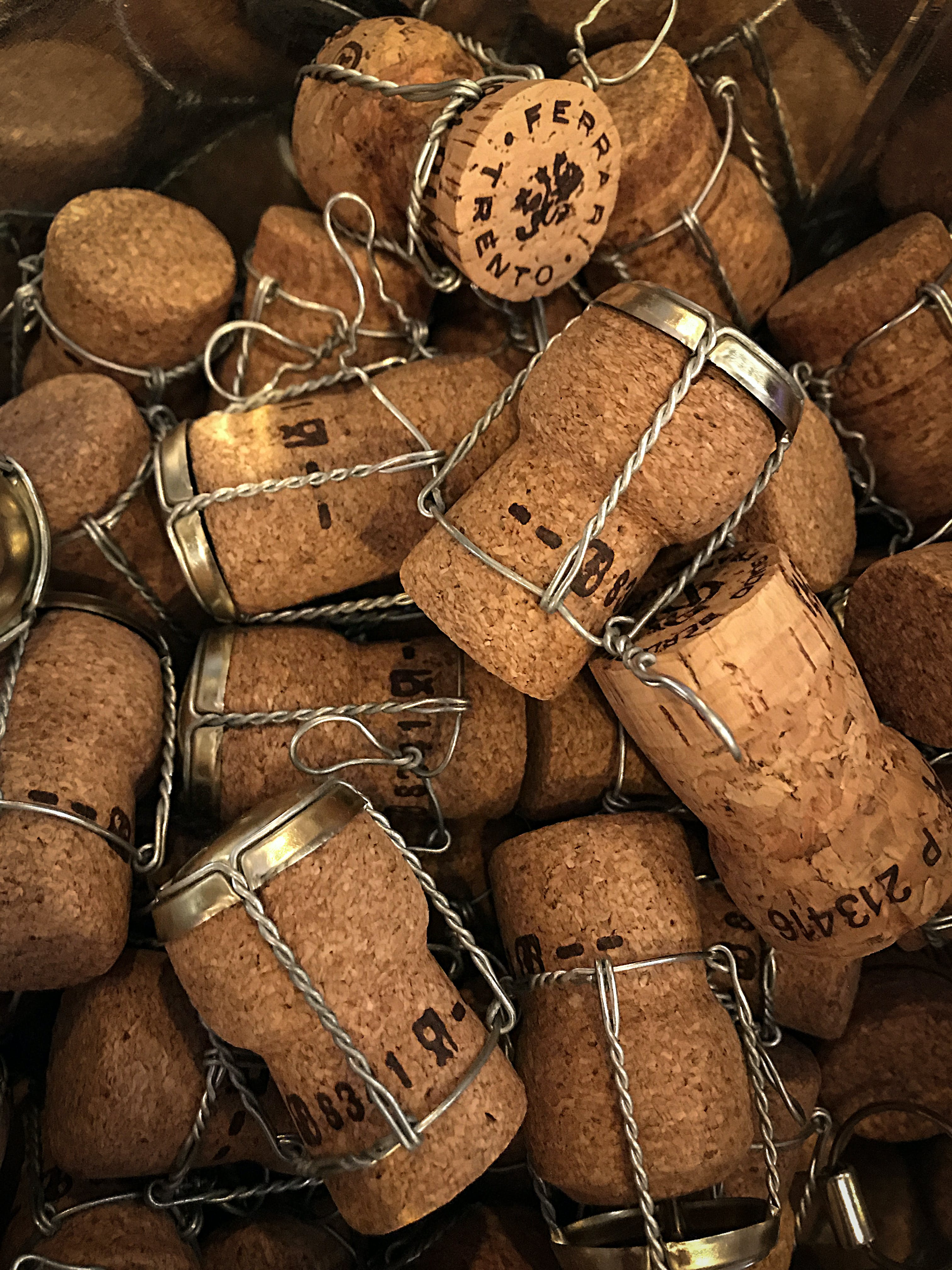 Free stock photo of texture, corks
