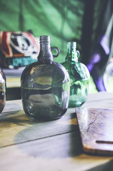 Big green bottle