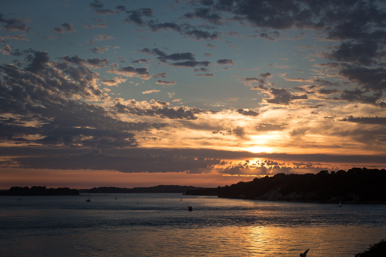 Free stock photo of clouds, coast, coastal sunset, sea