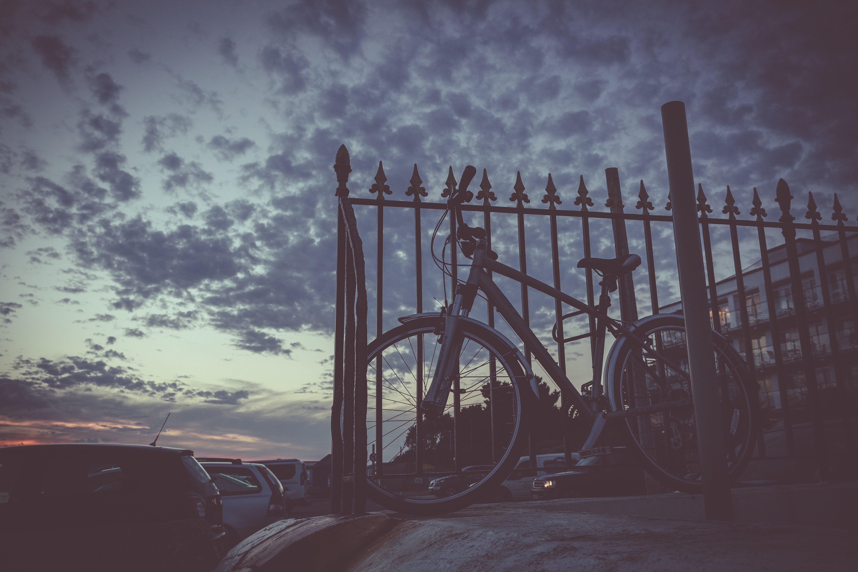 Free stock photo of abandoned, bicycle, bicycle frame, coast