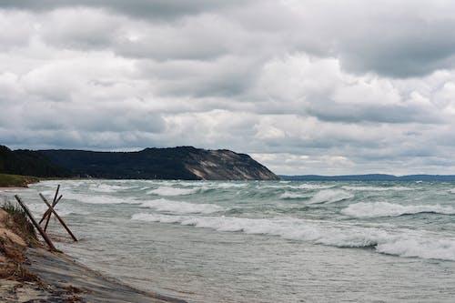 Foto d'estoc gratuïta de , #sleepingbear #michigan #usa #travel #beach #lost, acomiadar-se, aigua