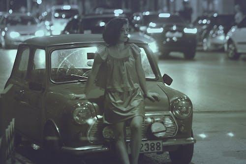 城市, 女孩, 希臘, 深 的 免費圖庫相片