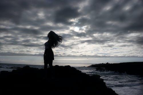 Gratis lagerfoto af hav, himmel