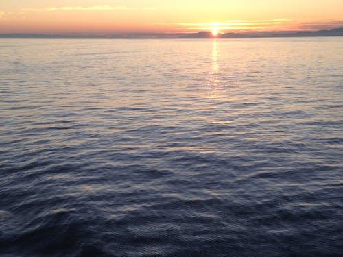日落, 海洋 的 免費圖庫相片