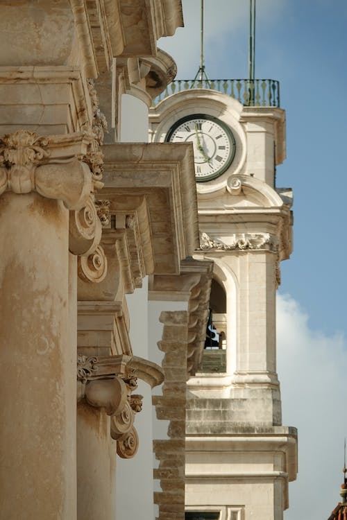 Free stock photo of clock tower, coimbra, historical centre