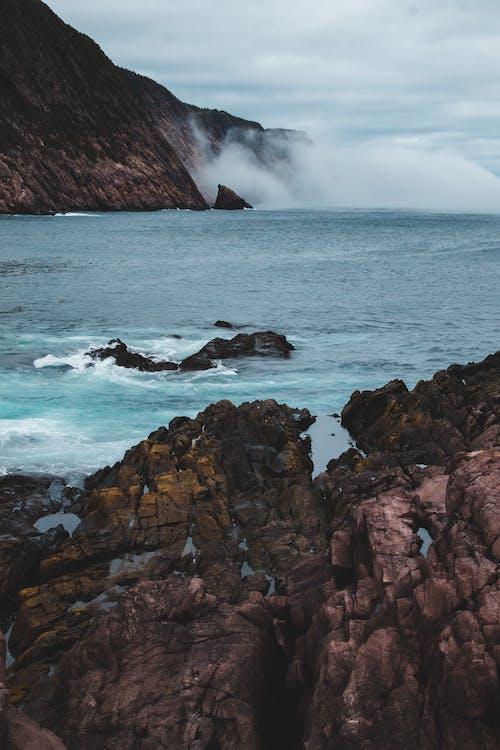 Бесплатное стоковое фото с аквамарин, атмосфера, буря