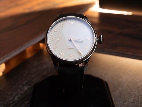 Close Up Shot of Analog Wristwatch