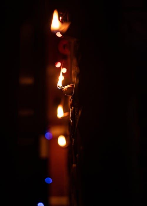 คลังภาพถ่ายฟรี ของ deepawali, diwali, กลางคืน, สว่าง