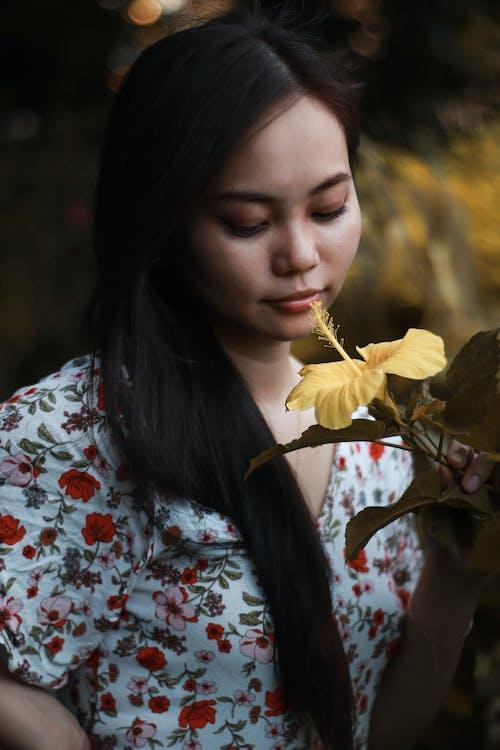 açık-fotoğrafçılık, arka plan bulanık, asya güzellik içeren Ücretsiz stok fotoğraf