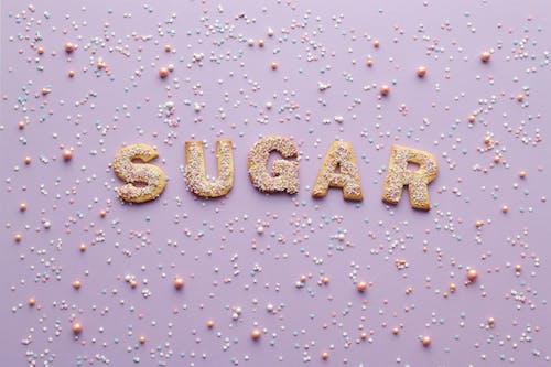 Foto profissional grátis de açúcar, agradável, alfabeto