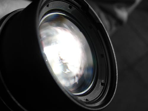 Free stock photo of camera, lens, light
