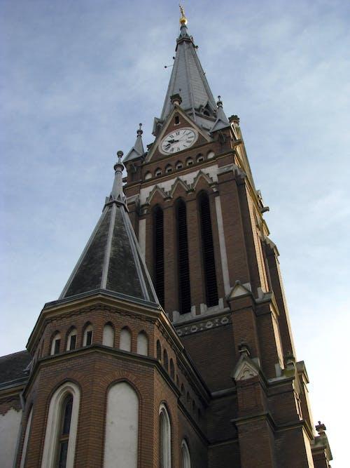 Photos gratuites de église rouge, grand, luthérien, religion