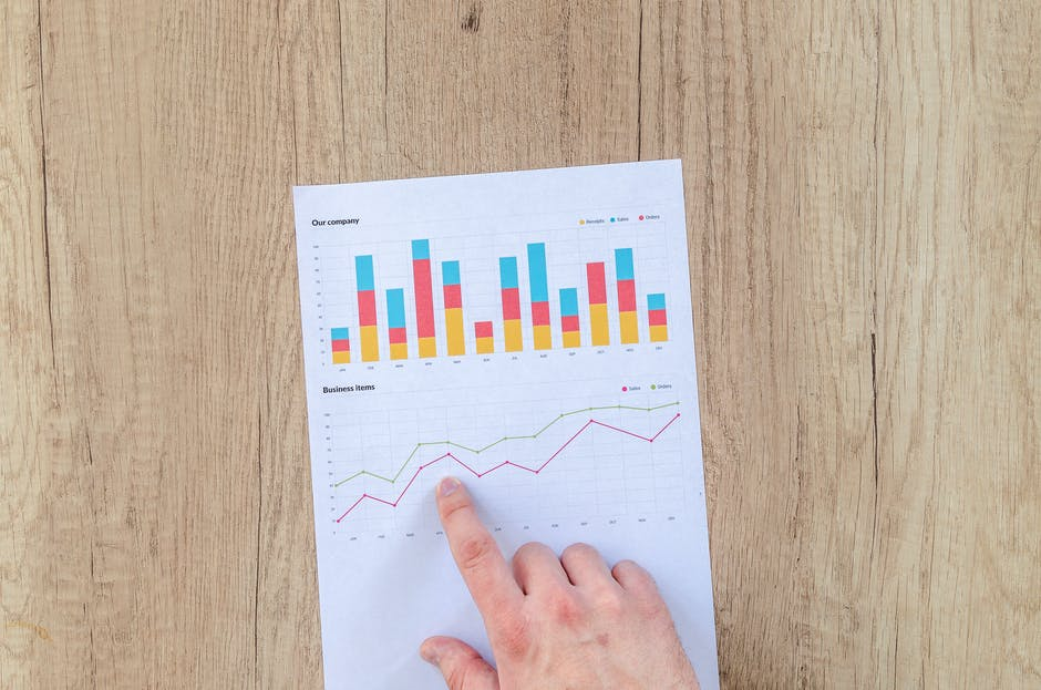 chart, data, desk