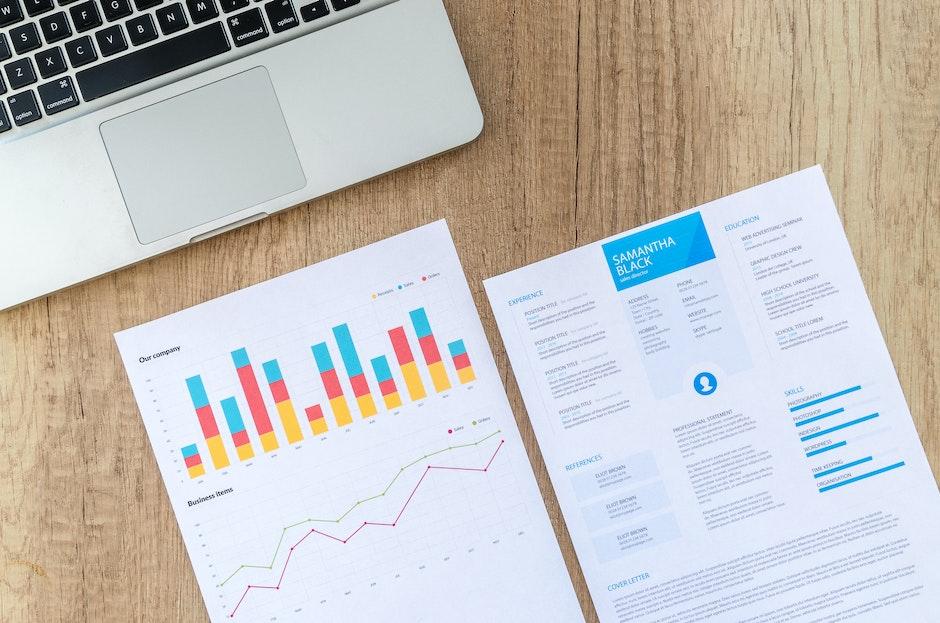graphs, job, laptop