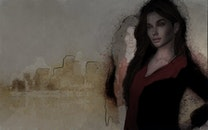 woman, abstract photo