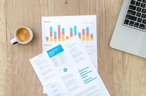 Ingyenes stockfotó adat, asztal, csésze, diagram témában
