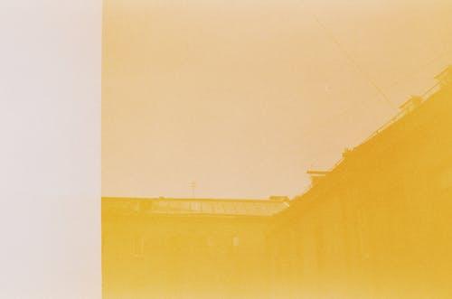 Fotos de stock gratuitas de 35 mm, abstracto, amarillo, arquitectura