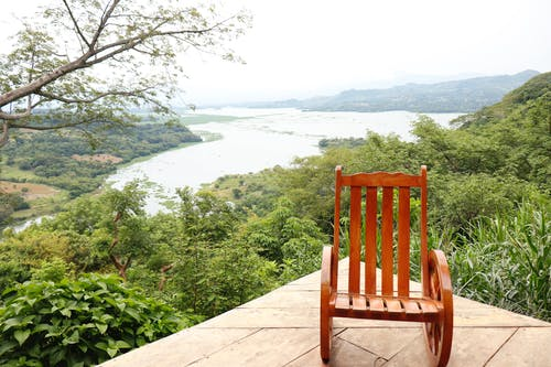 Free stock photo of chair, landscape