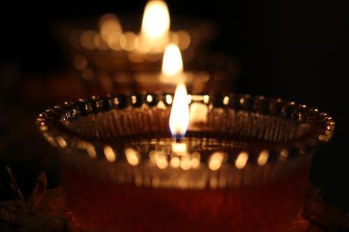 Free stock photo of blurry, bokeh, candle
