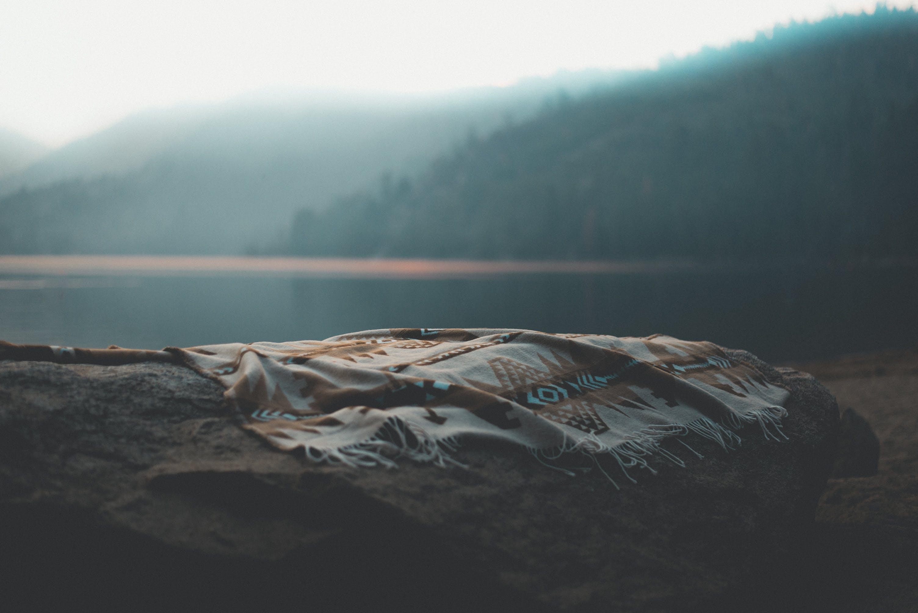 のどか, もや, 冬, 山岳の無料の写真素材