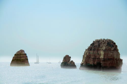 바다, 보트, 푸른 물의 무료 스톡 사진