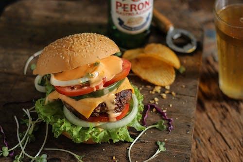 Free stock photo of food, hamburger