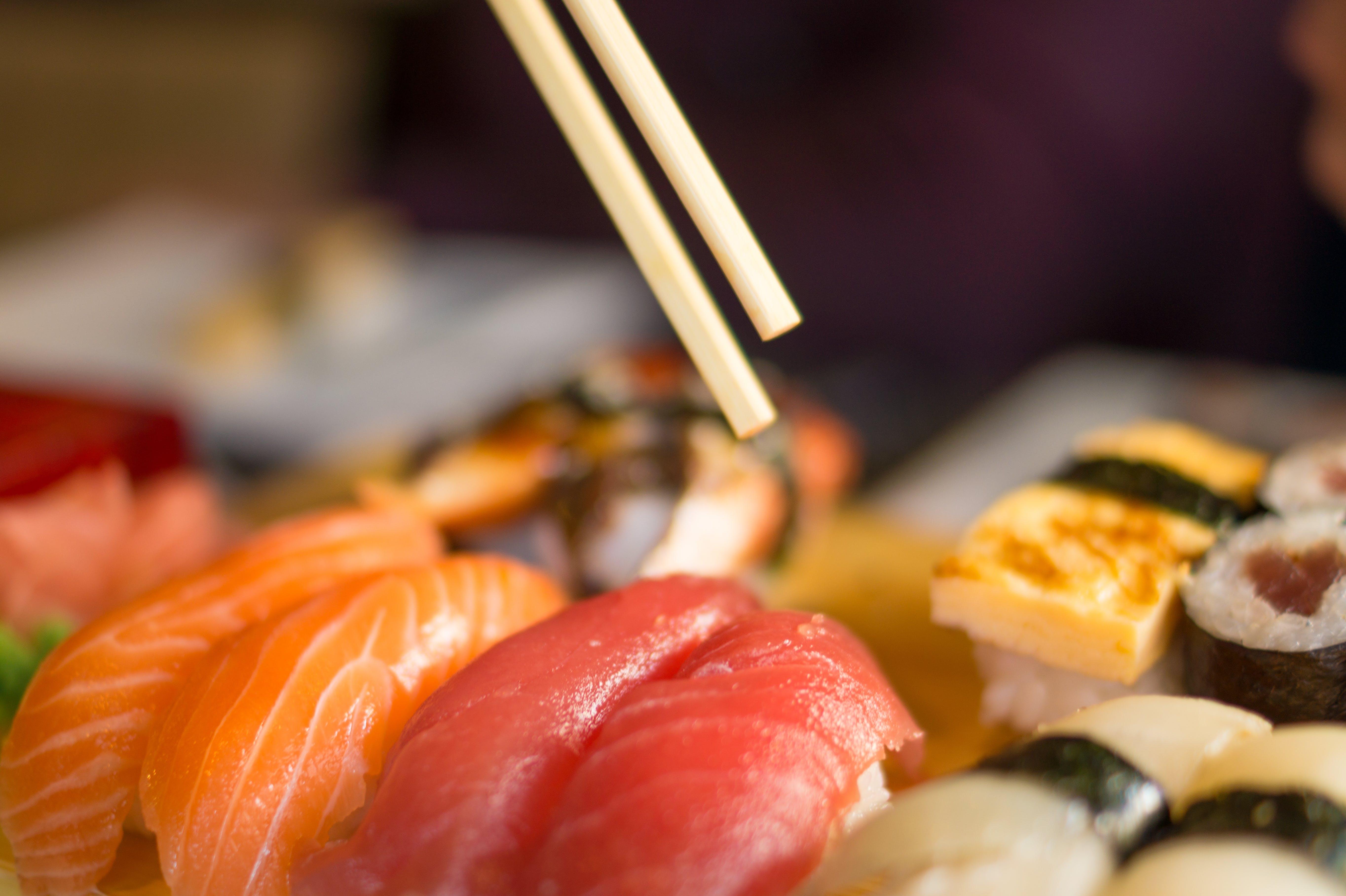 Free stock photo of food, egg, fish, rice
