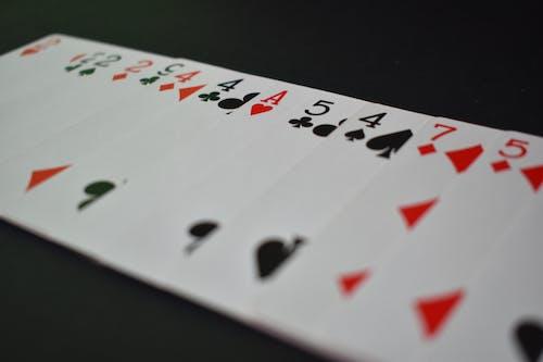 Kostnadsfri bild av kort, poker, Spelar kort, vegas