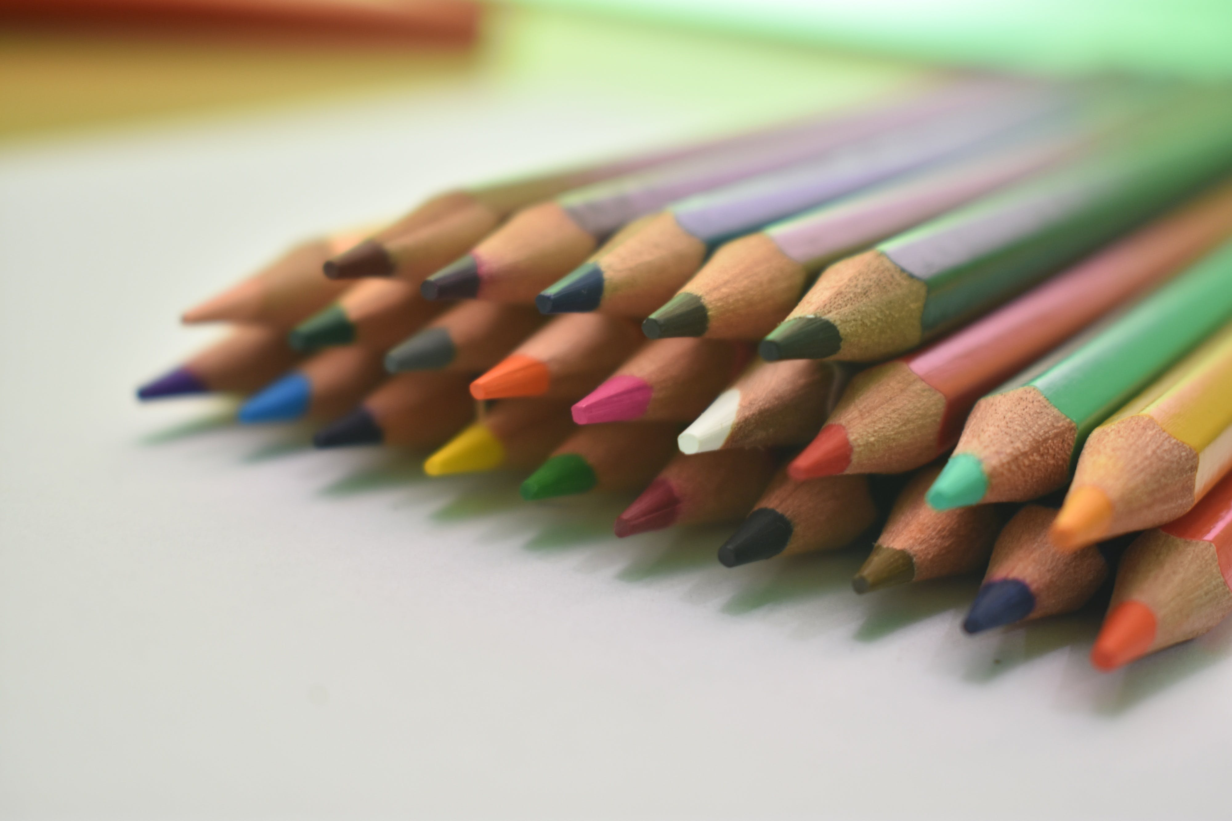 Free stock photo of colored pencils, design, drawing, pencils