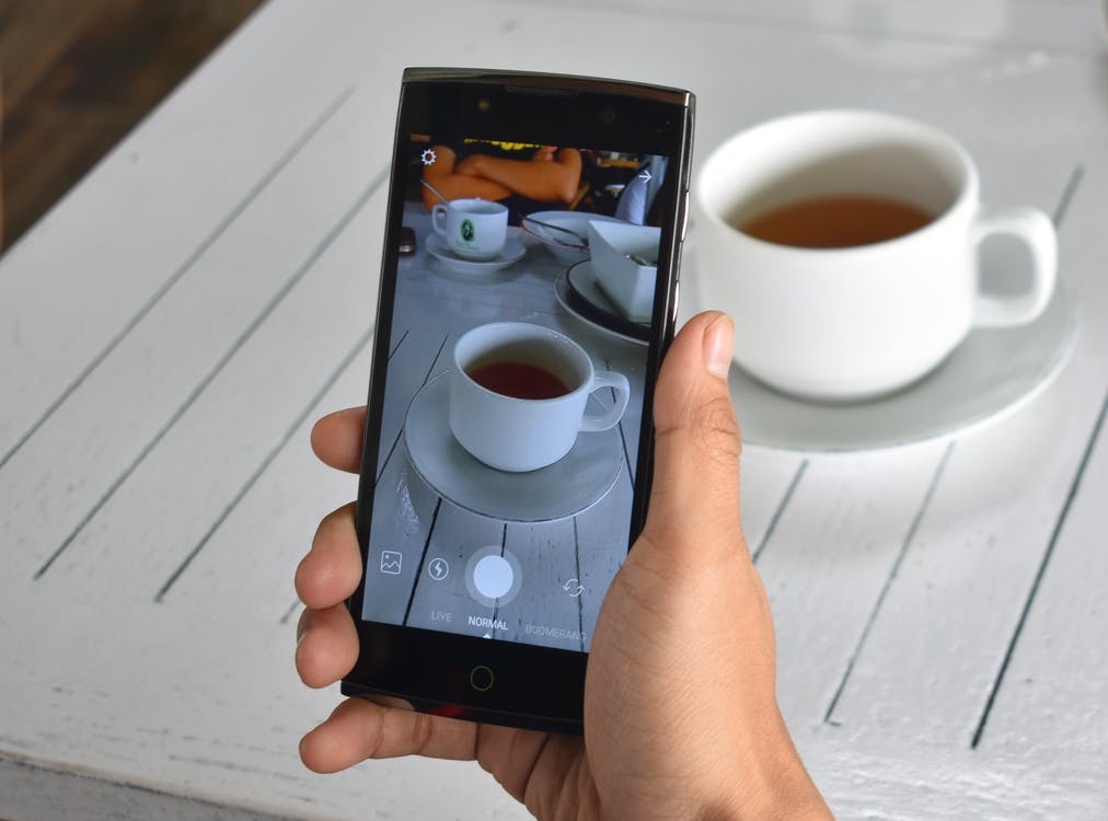 instagram, smartphone, taking photo