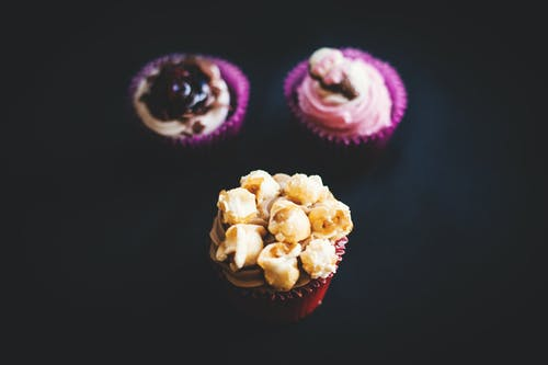 Gratis stockfoto met close-up, cupcakejes, eten, gebakken