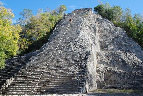Free stock photo of nohoch mul, pyramid