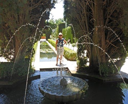 Free stock photo of alhambra, fountain, gardens