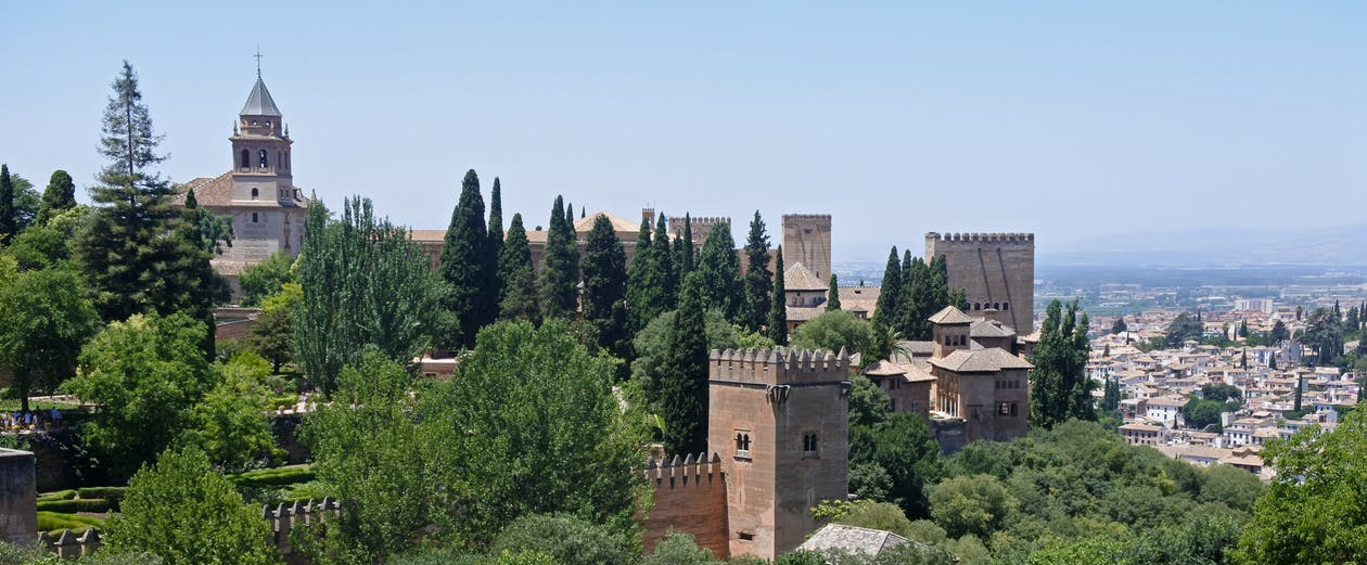Free stock photo of alhambra