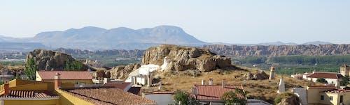 Free stock photo of cavehouses, mirador, panorama