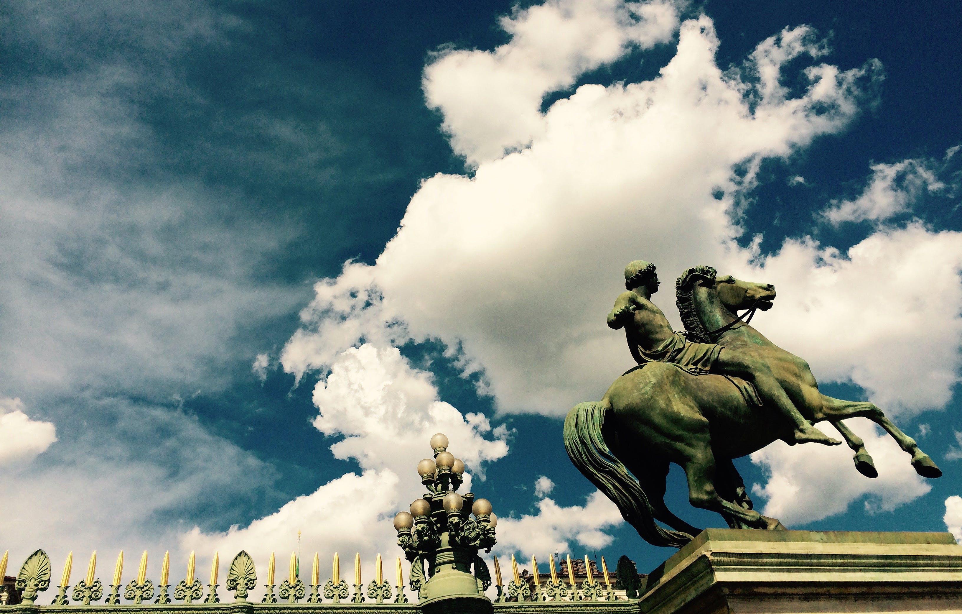 Ingyenes stockfotó emlékmű, felhők, Itália, kapu témában