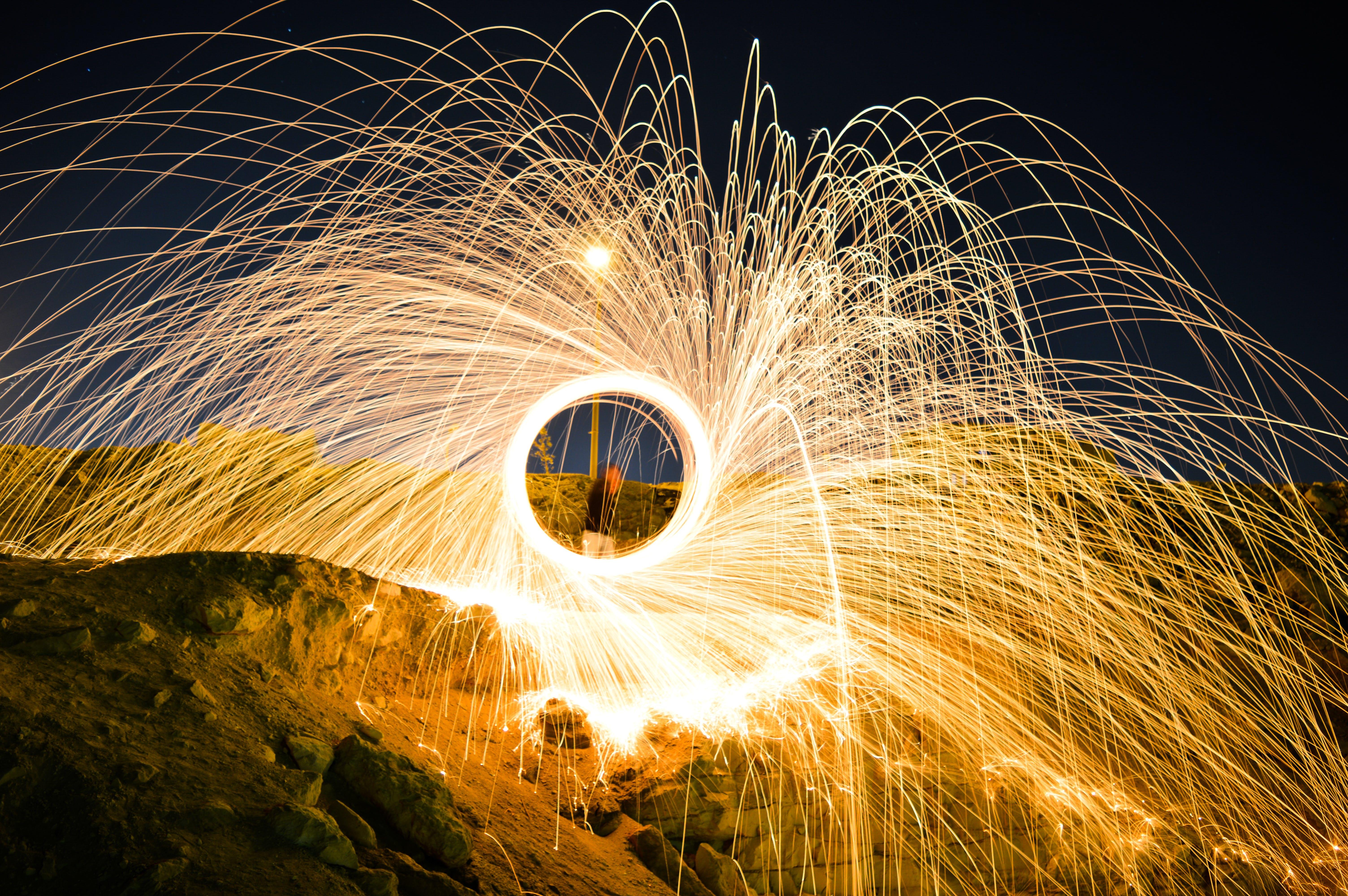 Steel-wool Photography
