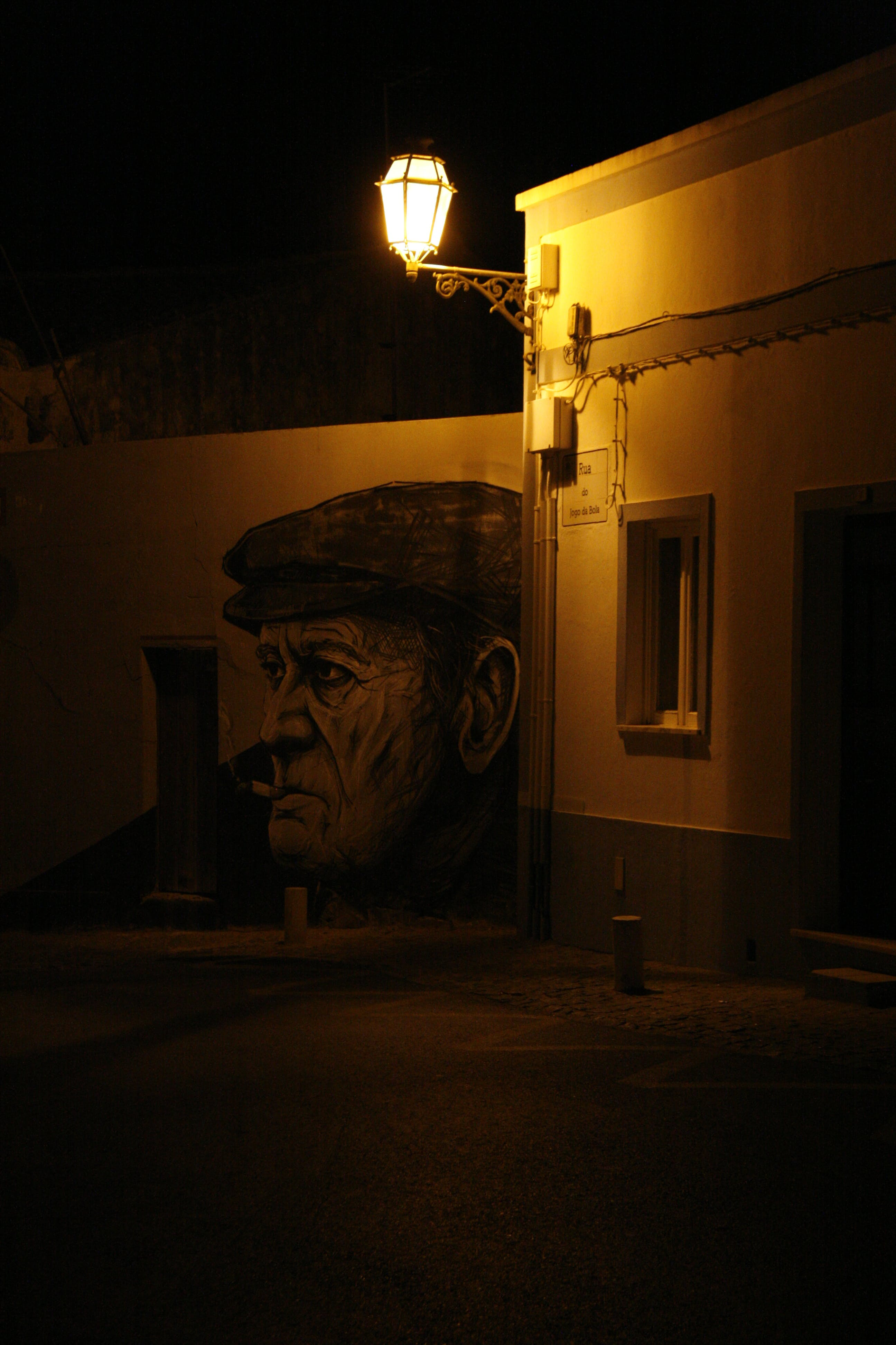 Free stock photo of empty street, night, portugal, street