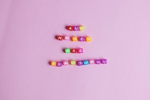 Adhesivos De Letras Multicolor