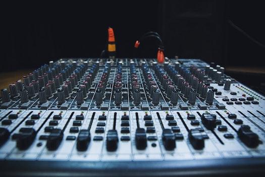 Free stock photo of technology, music, sound, audio