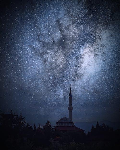 Immagine gratuita di bel cielo, denizli, fotografia notturna