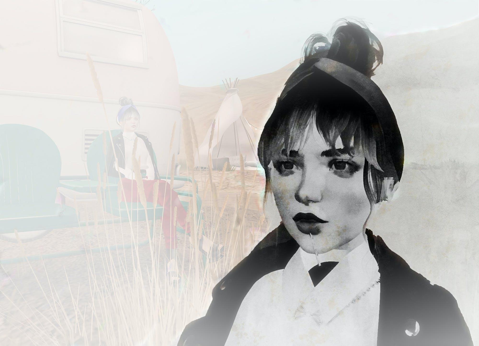 Free stock photo of woman, marfa