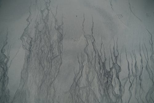 Abstract picture of gray color surface