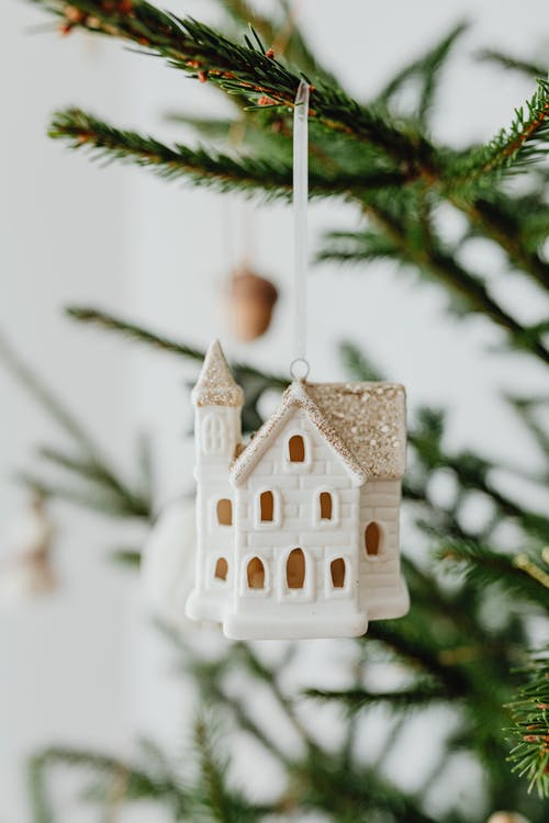House Bauble Christmas Tree Decoration