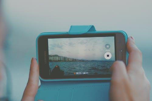 mobilescreen, 城市, 塔, 天空 的 免費圖庫相片