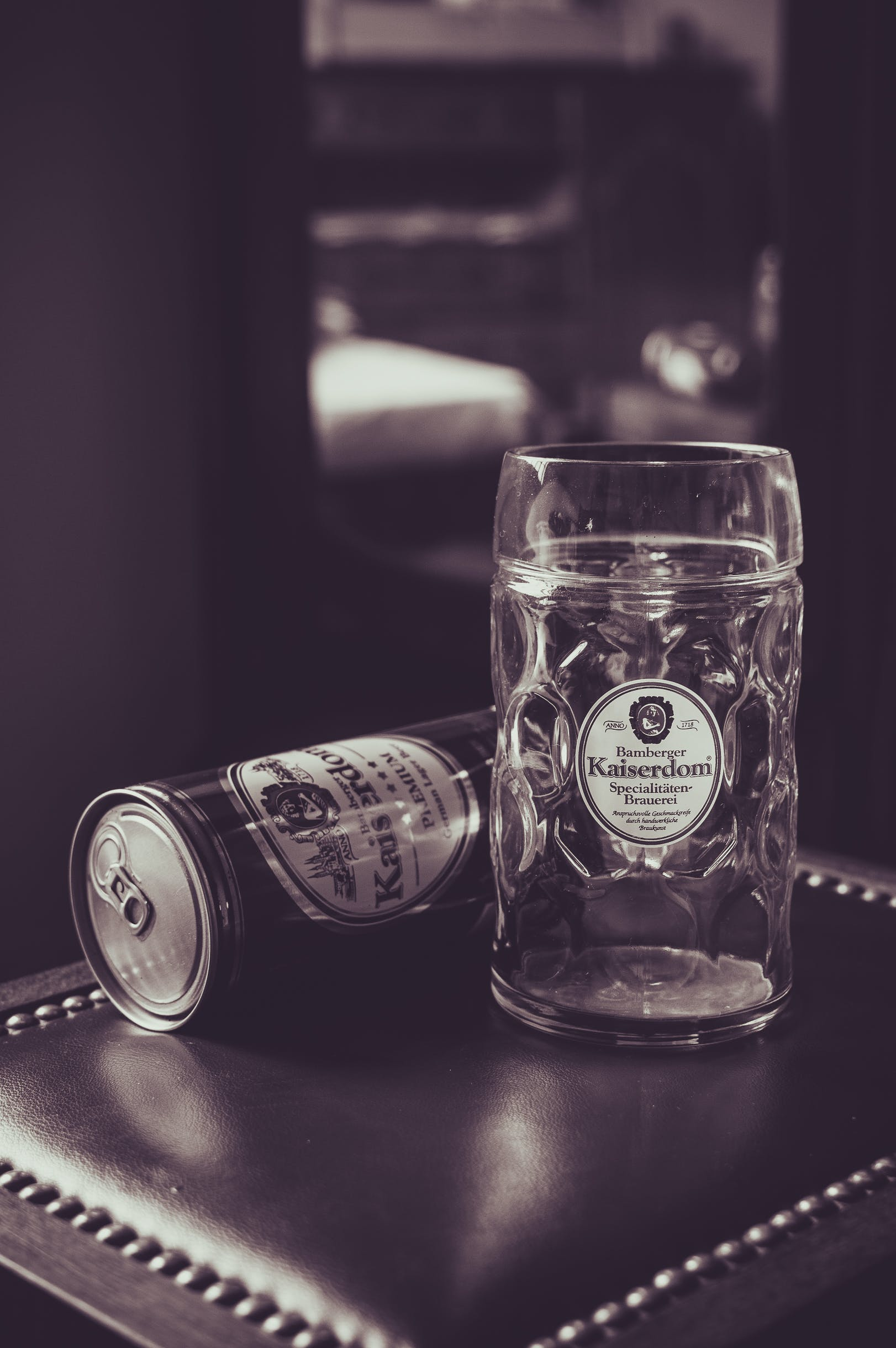 Free stock photo of beer, can, cup, glass
