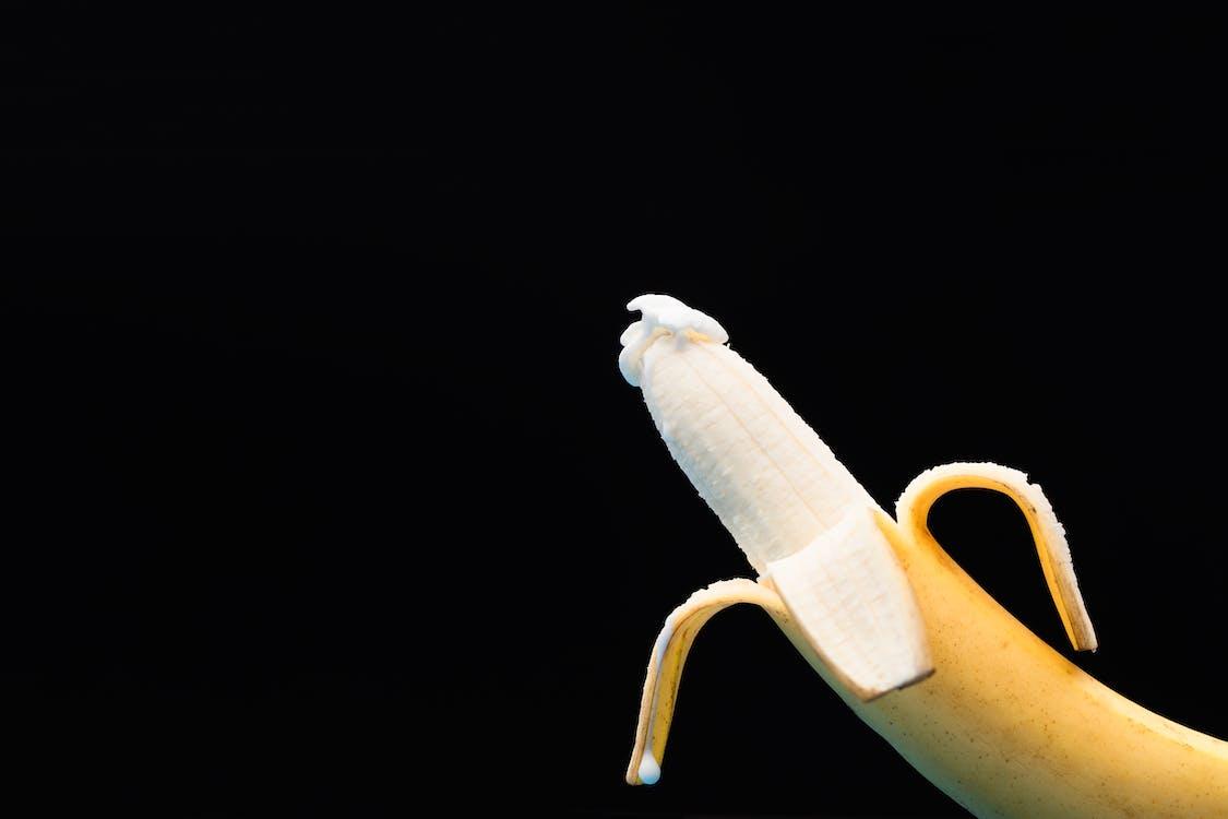 Close Up Shot of a Banana